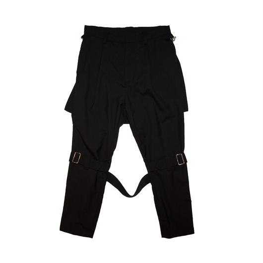 WOOL BONDAGE TROUSERS 'NEW OUTRAGE