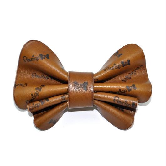Patriqo Leather Butterfly Bowtie レザーバタフライ蝶ネクタイ
