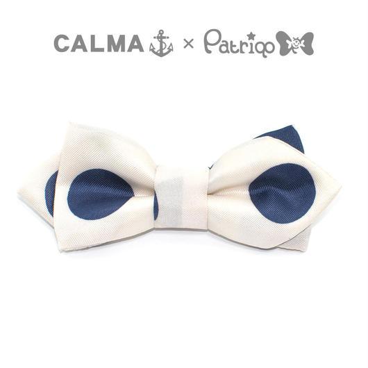 CALMA × Patriqo Vintage Scarf Bowtie Wネーム ヴィンテージスカーフ蝶ネクタイ
