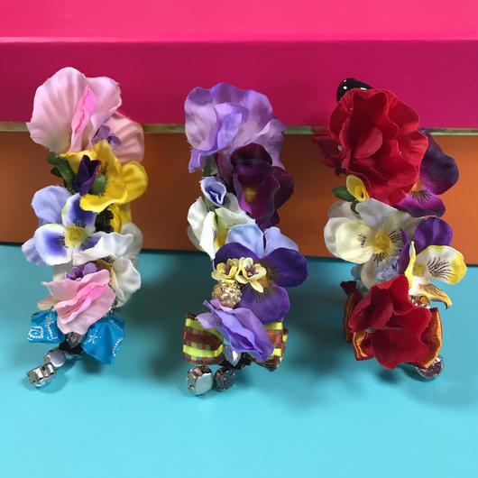 Flower Garden Banana Clip