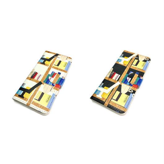 【本】(リーヴル)【全2色】iphone  X/8/7/6S/6手帳型ケース