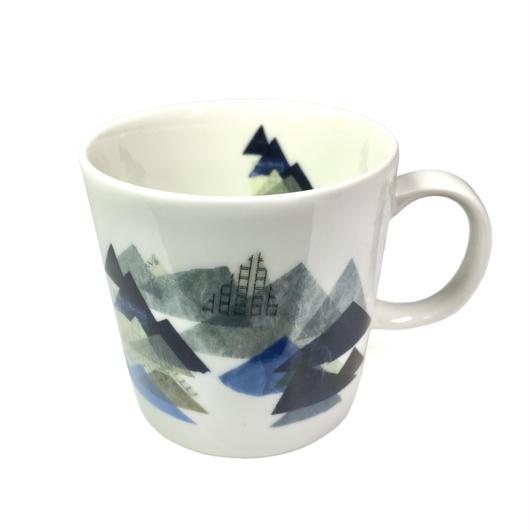 【山】(レ・モンターニュ)マグカップ