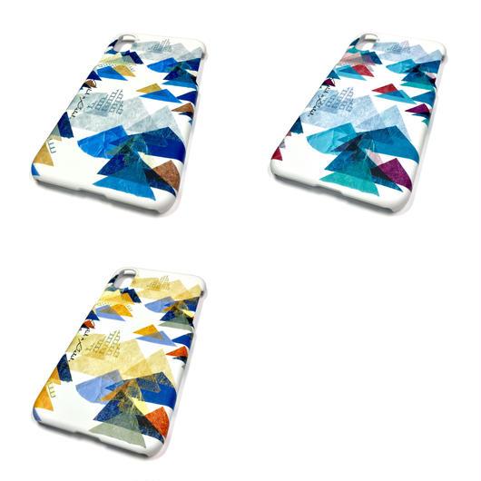 【山】(レ・モンターニュ)【全3色】iphone iphoneX/8/7/6S/6 /5/5S/SE/5cスマホハードカバー