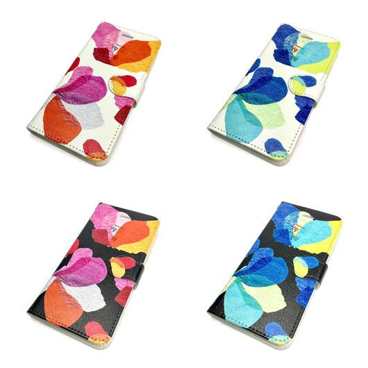 【花】(レ・フレール)【全4色】iphone X/8/7/6S/6手帳型ケース