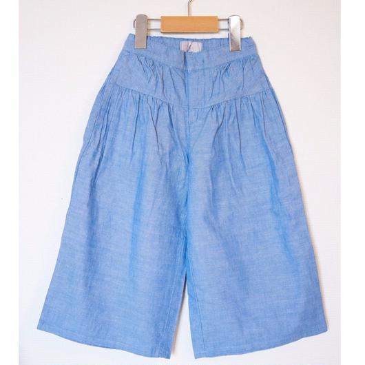 ガウチョパンツ 【BLUE  130〜150C】