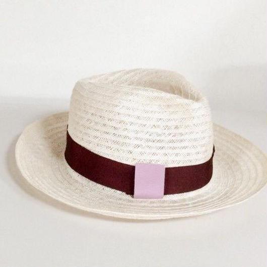 summer linen hat