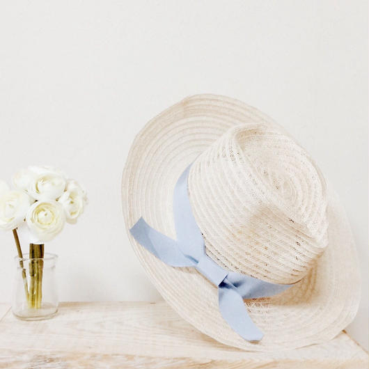 cherry hat(blue)