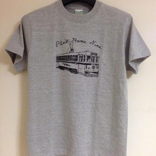 severalfold路面電車Tシャツ