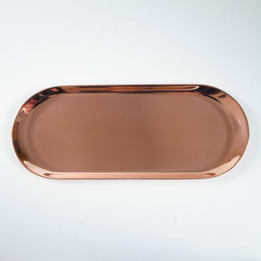 COPPER PLATED BRASS TRAY