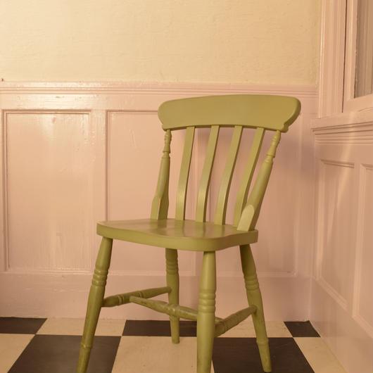 Slat paint chair