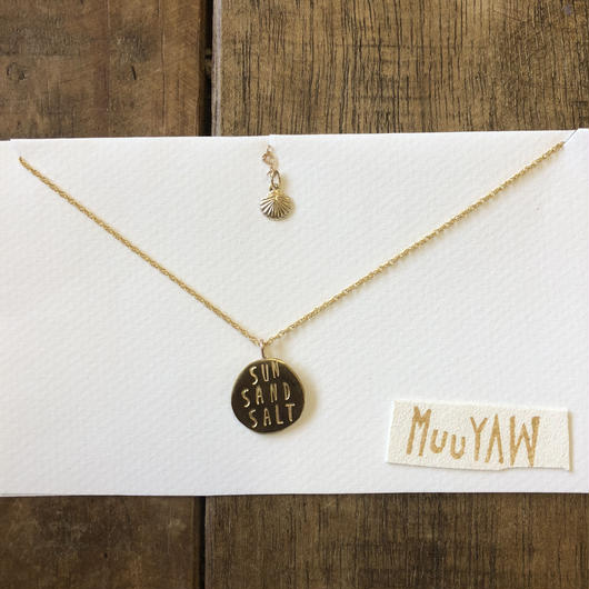 Muuyaw Original coin Necklace