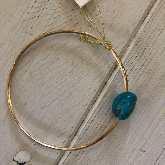 Muuyaw Turquoise bangle