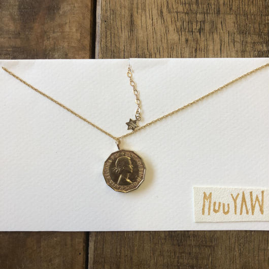 Muuyaw Real coinNecklace
