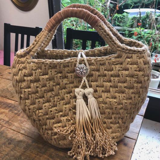 iiwi flower concho tote bag
