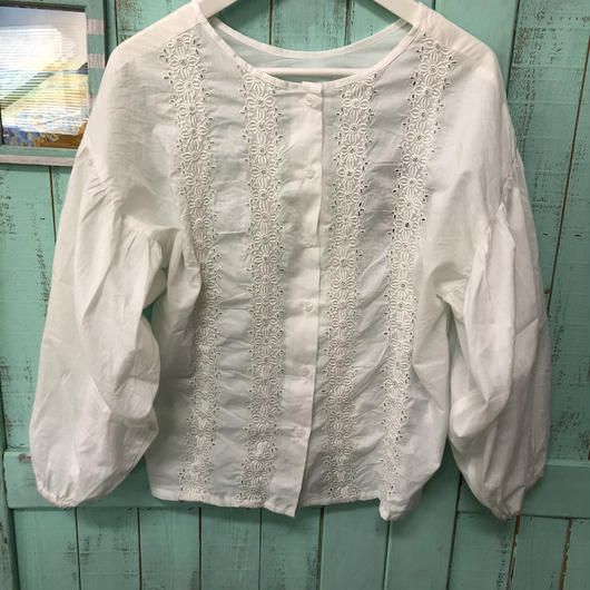 cotton2way blouse