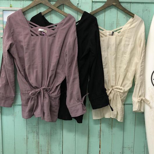 Leona cotton  square blouse