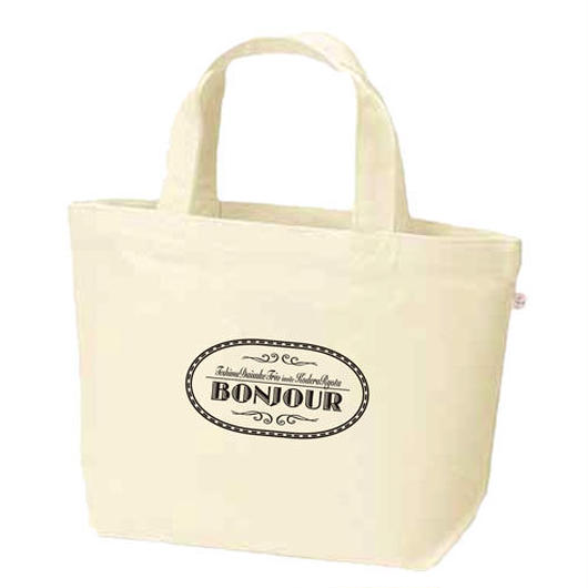 BONJOUR/キャンバスランチトート