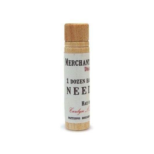 MERCHANT & MILLS NEEDLES WOODEN CASE