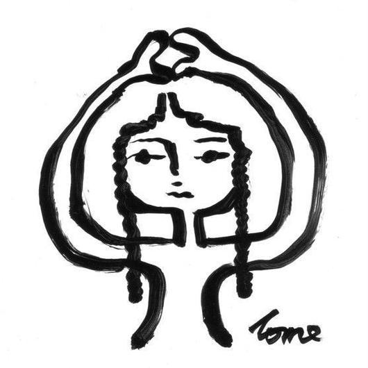 手描き絵の原画「友だちが欲しいワ」