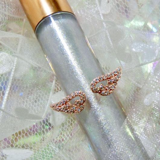 Broken angel's feather ring