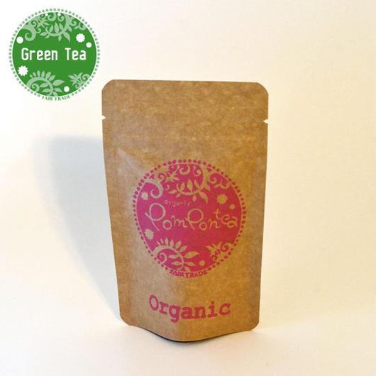 オーガニック ローズグリーンティー Sパック(ティーバッグ2g×5袋)