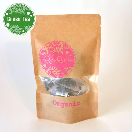オーガニック ローズグリーンティ(Rose & Sri Lanka Green Tea)(ティーバッグ2g×10袋)