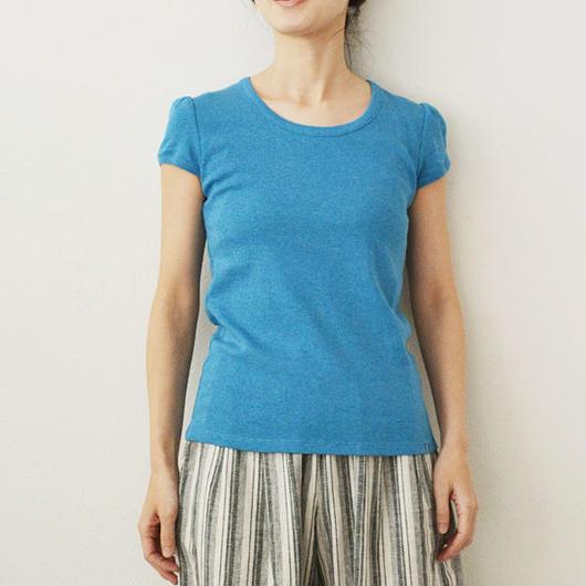 半袖パフスリーブTシャツ    (PH9104)