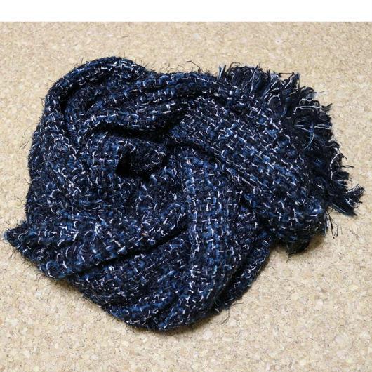 【手織りマフラー】裏・舞踏会