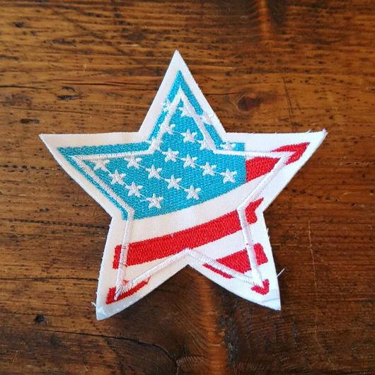 ワッペン アメリカ国旗 星