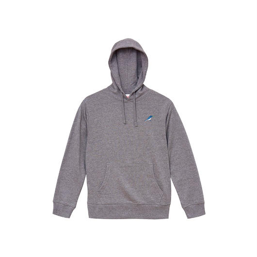 """""""Hoodie"""" Predawn 10th Anniversary Special Goods [Gray / Navy]"""