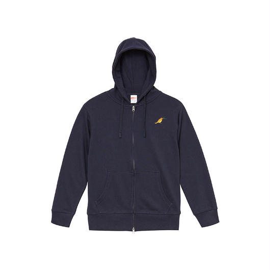"""Full Zip Hoodie"" Predawn 10th Anniversary  Special Goods [Gray / Navy]"