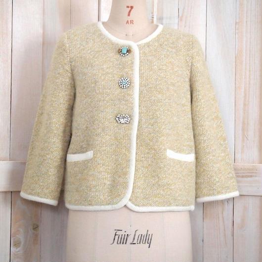 merange bijoux Jacket yellow merange