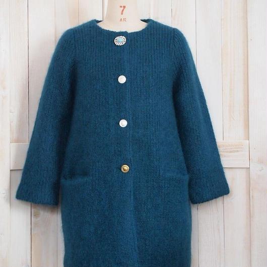 mohair bijoux Coat green