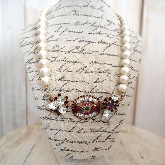 cotton pearl bijoux necklace petite 33④