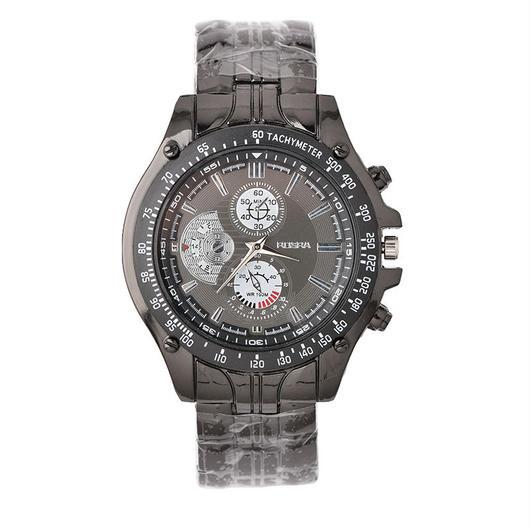 ブラックベルト メンズ 腕時計