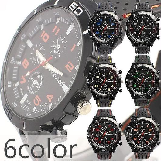 ラバー メンズ 腕時計 時計 人気 ミリタリー