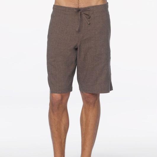 PRANA Sutra Short Brown Herringbone