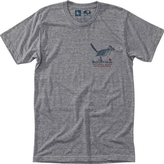 HIPPY TREE ROADRUNNER TEE HEATHER GREY