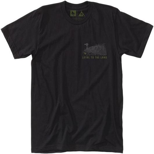 HIPPY TREE FILD TEE BLACK