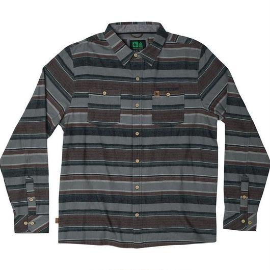 HIPPY TREE ASHBURY FLANNEL SLATE