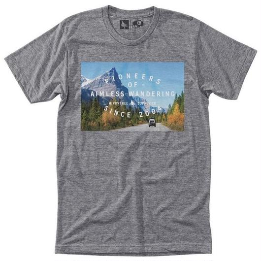 HIPPY TREE HIGHT WAY TEE HEATHER GREY