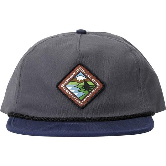 HIPPY TREE LAND HAT CHARCOAL