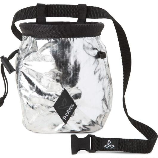 PRANA CHALKBAG WITH BELT Metal
