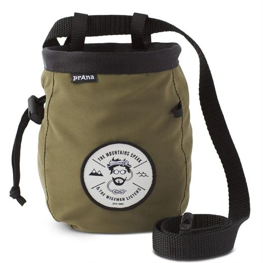 PRANA GRAPHIC CHALKBAG WITH BELT  Cargo Green