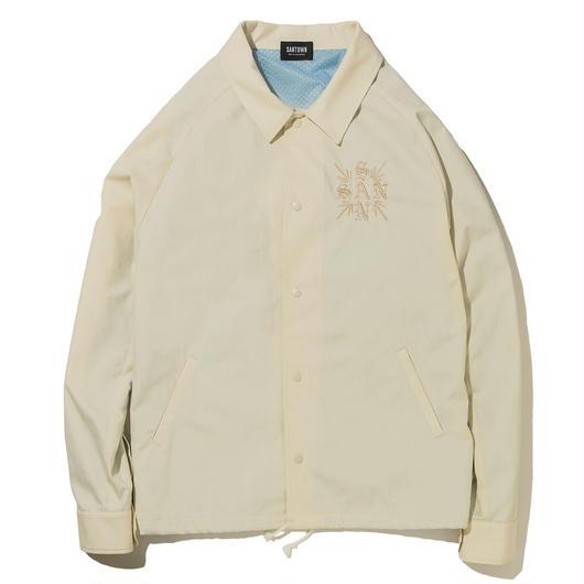 SANTOWN Spring Coach Jacket - White