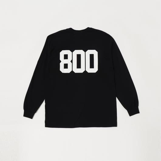 【19SS】800 BACK PRINT L/SL TEE