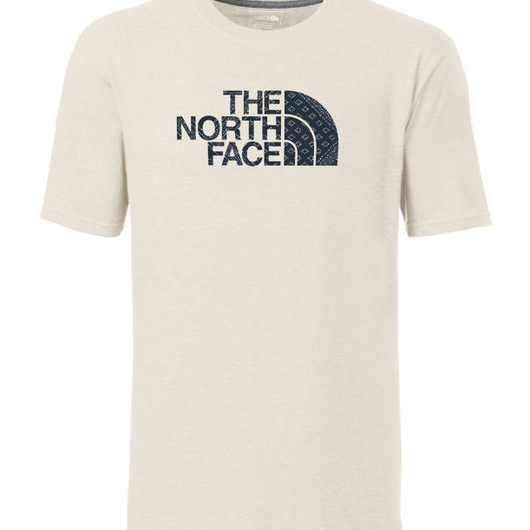 THE NORTH FACE HD LOGO FILL tee ナチュラル×バブル