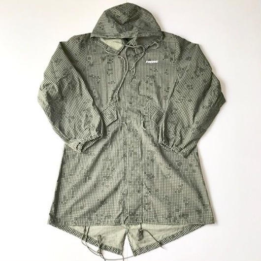 RUGGED on vintage DIA LOGO mods coat ナイトカモ M