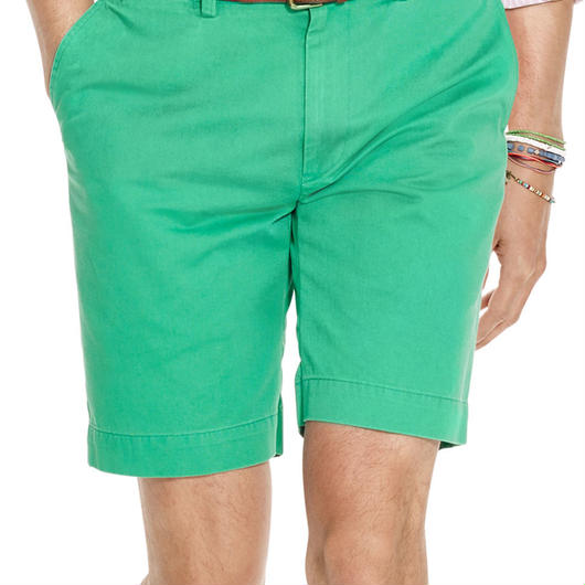 POLO RALPH LAUREN CLASSIC-FIT 9 short グリーン