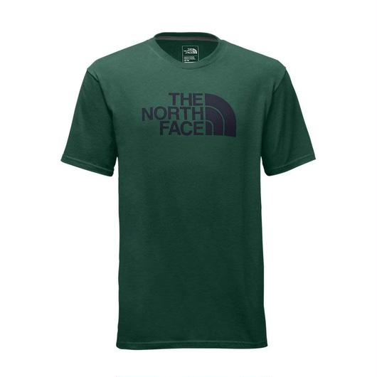 THE NORTH FACE HALF DOME tee グリーン×ネイビー M